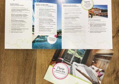 Prijslijst Hotel Riederalm