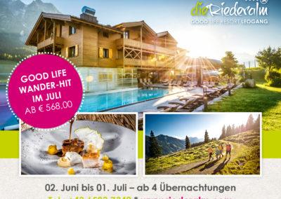 Online advertentie Hotel Riederalm